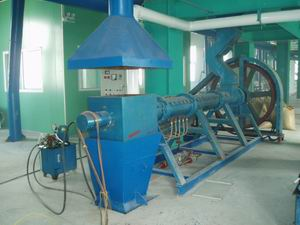 Extrusion Machine of Rice Bran Oil