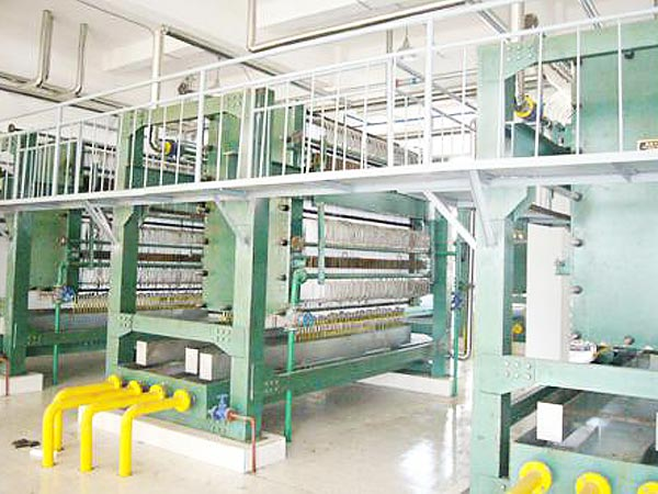 Filter Equipment of Rice Bran Oil