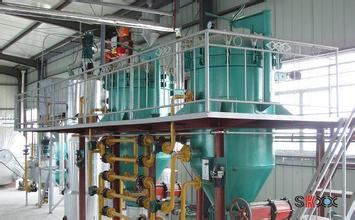 2-200T/D Rice Bran Oil Production Line